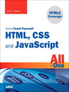 Sams Teach Yourself HTML, CSS, and JavaScript All in One (eBook)